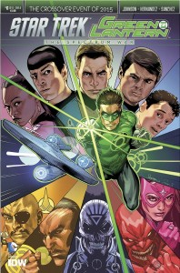 STAR TREK GREEN LANTERN #6 (OF 6)