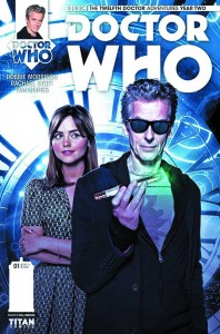 DOCTOR WHO 12TH YEAR 2 #1 BROOKS SUBSCRIPTION PHOTO