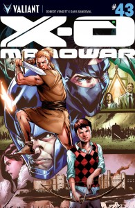 X-O MANOWAR #43 CVR A JIMENEZ