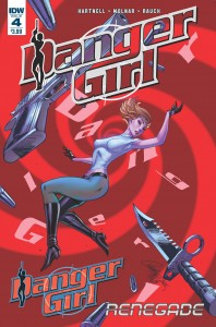DANGER GIRL RENEGADE #4 (OF 4)