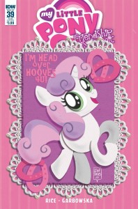 MY LITTLE PONY FRIENDSHIP IS MAGIC #39 VALENTINES DAY CARD VAR