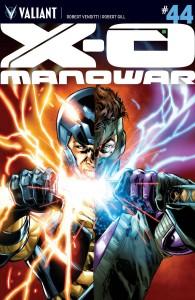 X-O MANOWAR #44 CVR A JIMENEZ