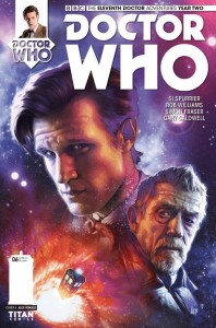 DOCTOR WHO THE ELEVENTH DOCTOR YEAR TWO #6 #6 REG RONALD