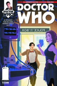 DOCTOR WHO THE ELEVENTH DOCTOR YEAR TWO #7 #7 CVR A MILLER