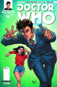 DOCTOR WHO THE TENTH DOCTOR YEAR TWO #7 #7 CVR A NAUCK