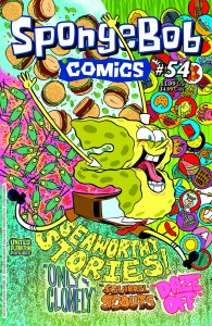 SPONGEBOB COMICS #54 #54