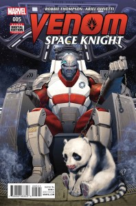 VENOM SPACE KNIGHT #5