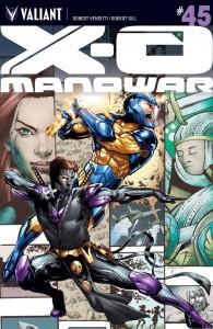 X-O MANOWAR #45 CVR A JIMENEZ