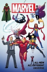 ALL NEW ALL DIFFERENT MARVEL UNIVERSE