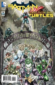 BATMAN TEENAGE MUTANT NINJA TURTLES #5 (OF 6)