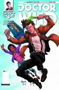 DOCTOR WHO THE ELEVENTH DOCTOR YEAR TWO #8 #8 CVR A NAUCK