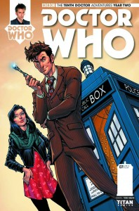DOCTOR WHO THE TENTH DOCTOR YEAR TWO #8 #8 CVR A NAUCK