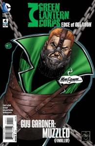GREEN LANTERN CORPS EDGE OF OBLIVION #4 (OF 6)
