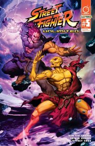 STREET FIGHTER UNLIMITED #5 CVR A GENZOMAN STORY