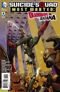 SUICIDE SQUAD MOST WANTED DEADSHOT KATANA #4 (OF 6)