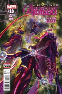 ALL NEW ALL DIFFERENT AVENGERS #10 ASO