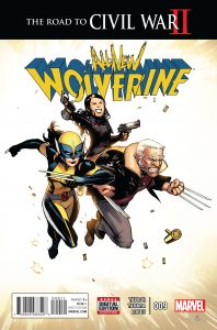 ALL NEW WOLVERINE #9