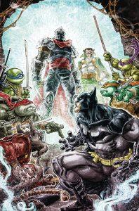 BATMAN TEENAGE MUTANT NINJA TURTLES #6 (OF 6)