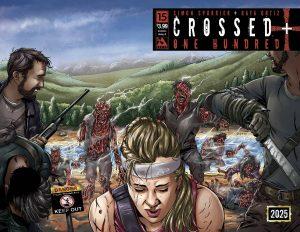 CROSSED PLUS 100 #15 AMERICAN HISTORY X WRAP CVR (MR)