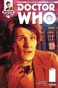 DOCTOR WHO THE ELEVENTH DOCTOR YEAR TWO #9 #9 CVR A WHEATLEY