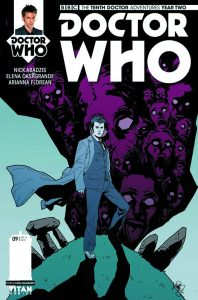 DOCTOR WHO THE TENTH DOCTOR YEAR TWO #9 #9 CVR A CASAGRANDE