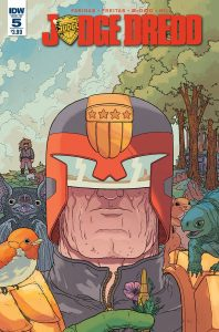 JUDGE DREDD (ONGOING) #5