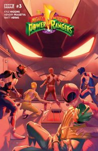 MIGHTY MORPHIN POWER RANGERS #3 MAIN CVR