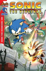 SONIC THE HEDGEHOG #281 #281 REG CVR A HESSE