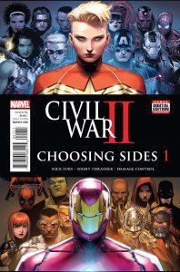 CIVIL WAR II CHOOSING SIDES #1 (OF 6)