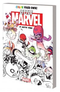 COLOR YOUR OWN LITTLE MARVEL BY SKOTTIE YOUNG TP