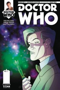 DOCTOR WHO THE ELEVENTH DOCTOR YEAR TWO #10 #10 CVR A BOULTWOOD
