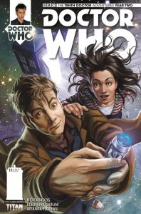 DOCTOR WHO THE TENTH DOCTOR YEAR TWO #11 #11 CVR A IANNICIELLO
