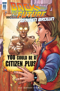 BACK TO THE FUTURE CITIZEN BROWN #3
