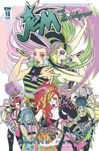 JEM & THE HOLOGRAMS #16
