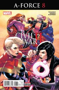 A-FORCE #8 CW2