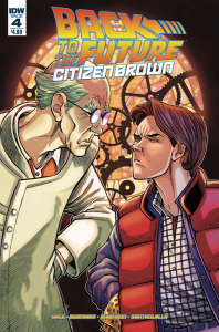 BACK TO THE FUTURE CITIZEN BROWN #4