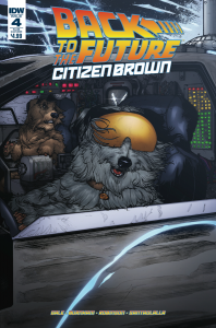 BACK TO THE FUTURE CITIZEN BROWN #4 cvr