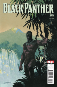 BLACK PANTHER #5 RIBIC CONNECTING A VAR