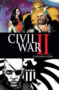 CIVIL WAR II CHOOSING SIDES #5