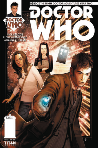 DOCTOR WHO 10TH YEAR TWO #13 CVR A REIS