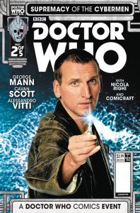 DOCTOR WHO SUPREMACY OF THE CYBERMEN #2 cvr b
