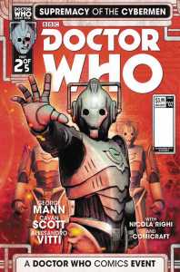 DOCTOR WHO SUPREMACY OF THE CYBERMEN #2 cvr c