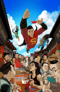 NEW SUPER MAN #2 VAR ED