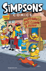 SIMPSONS COMICS #232