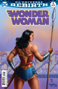 WONDER WOMAN #5 VAR ED